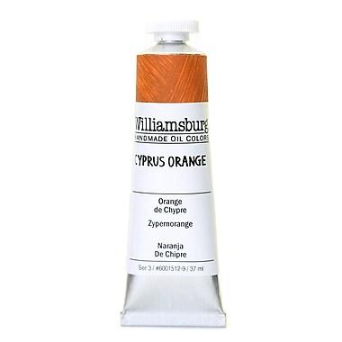 Williamsburg Handmade Oil Colors cyprus orange 37 ml