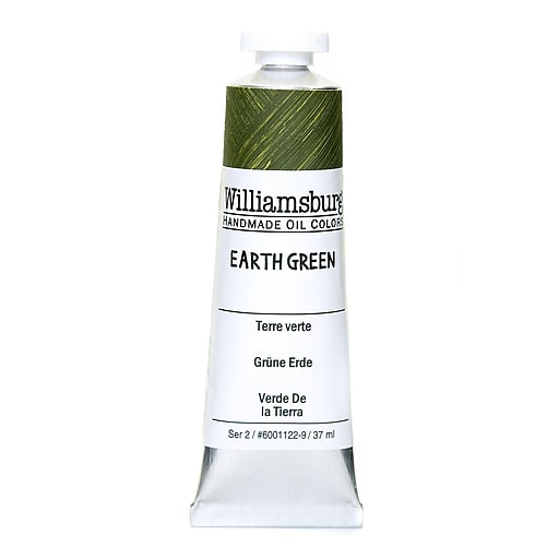 Williamsburg Handmade Oil Colors earth green 37 ml