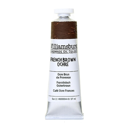 Williamsburg Handmade Oil Colors French brown ochre 37 ml