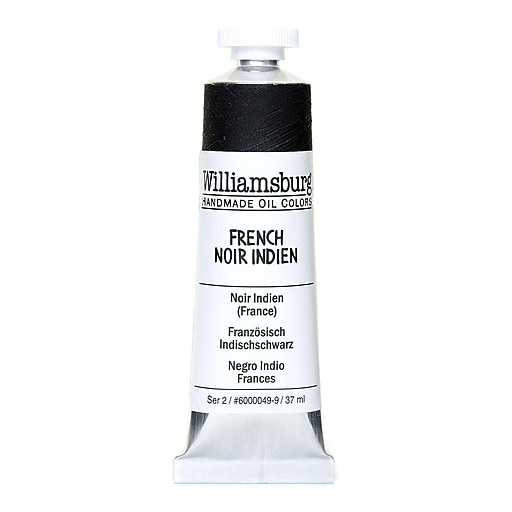 Williamsburg Handmade Oil Colors French noir Indien 37 ml