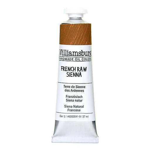 Williamsburg Handmade Oil Colors French raw sienna 37 ml