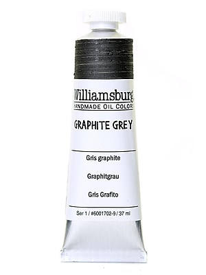 Williamsburg Handmade Oil Colors graphite grey 37 ml