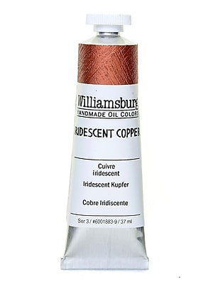 Williamsburg Handmade Oil Colors iridescent copper 37 ml