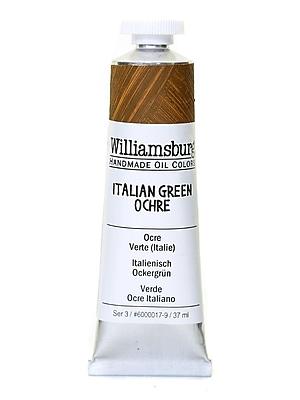 Williamsburg Handmade Oil Colors Italian green ochre 37 ml