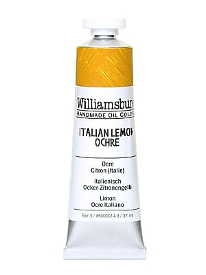 Williamsburg Handmade Oil Colors Italian lemon ochre 37 ml