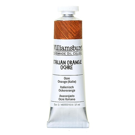 Williamsburg Handmade Oil Colors Italian orange ochre 37 ml