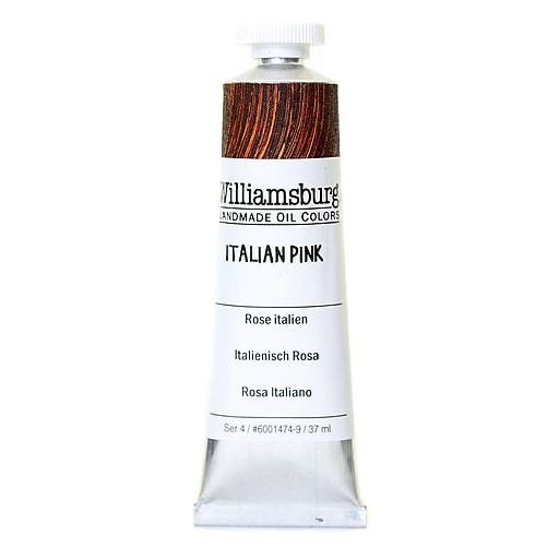 Williamsburg Handmade Oil Colors Italian pink 37 ml