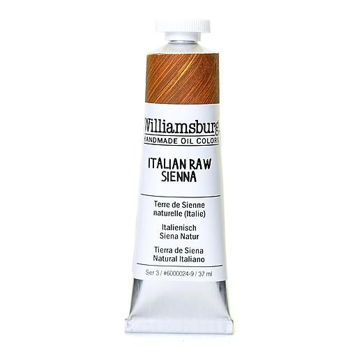Williamsburg Handmade Oil Colors Italian raw sienna 37 ml