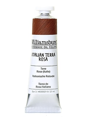 Williamsburg Handmade Oil Colors Italian Terra Rosa 37 ml