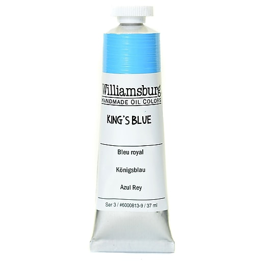 Williamsburg Handmade Oil Colors king's blue 37 ml