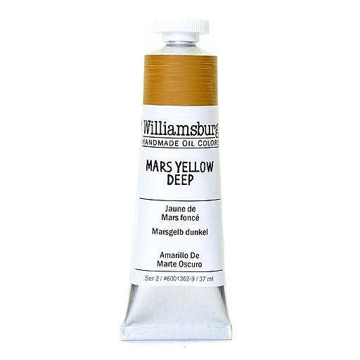 Williamsburg Handmade Oil Colors mars yellow deep 37 ml