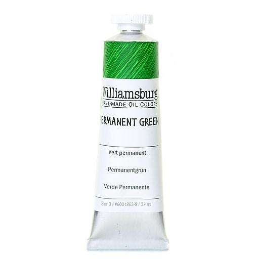 Williamsburg Handmade Oil Colors permanent green 37 ml