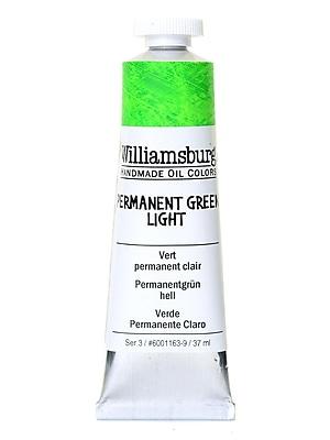 Williamsburg Handmade Oil Colors permanent green light 37 ml