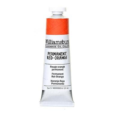 Williamsburg Handmade Oil Colors permanent red orange 37 ml