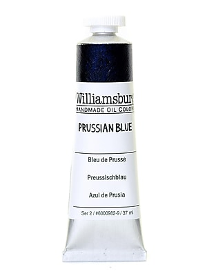 Williamsburg Handmade Oil Colors Prussian blue 37 ml