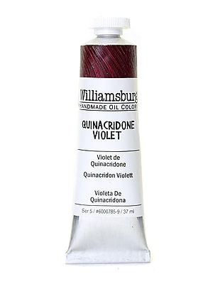 Williamsburg Handmade Oil Colors quinacridone violet 37 ml