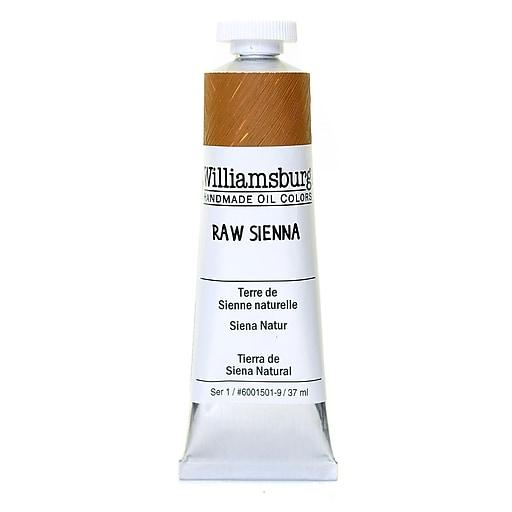 Williamsburg Handmade Oil Colors raw sienna 37 ml
