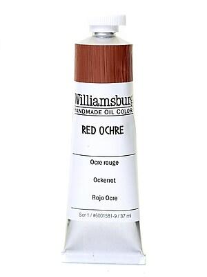 Williamsburg Handmade Oil Colors red ochre 37 ml