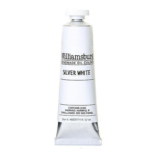 Williamsburg Handmade Oil Colors silver white 37 ml