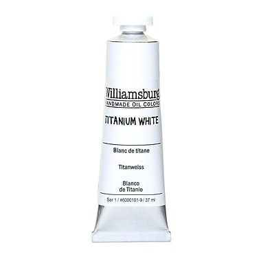 Williamsburg Handmade Oil Colors titanium white 37 ml