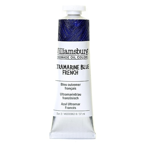 Williamsburg Handmade Oil Colors ultramarine blue French 37 ml