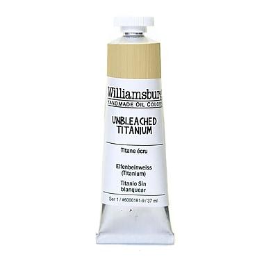 Williamsburg Handmade Oil Colors unbleached titanium 37 ml