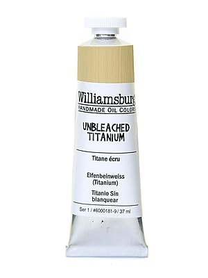 Williamsburg Handmade Oil Colors unbleached titanium 37 ml