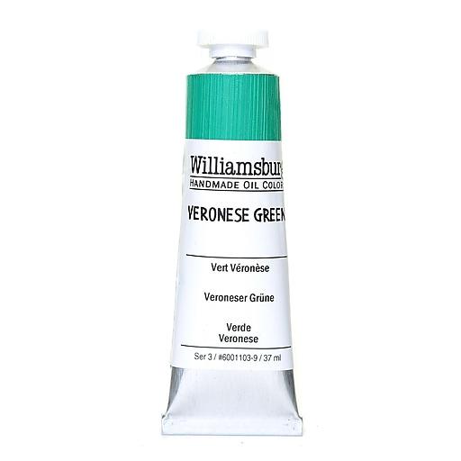 Williamsburg Handmade Oil Colors, Veronese Green 37 ml