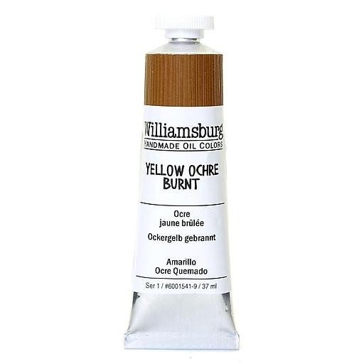 Williamsburg Handmade Oil Colors yellow ochre burnt 37 ml