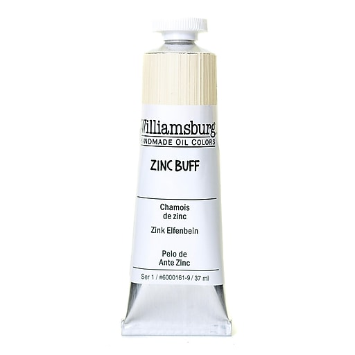 Williamsburg Handmade Oil Colors zinc buff 37 ml