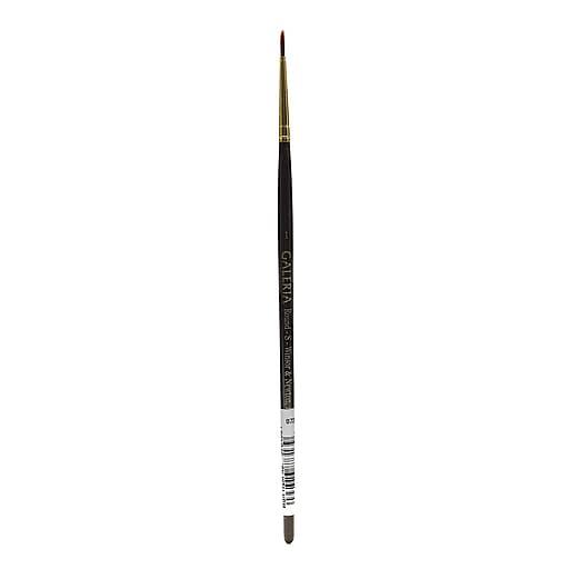 Winsor and Newton Galeria Short Handled Brush, 1, Round (11983)
