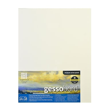 Ampersand Gessobord 14 in. x 18 in. 1/8 in. each [Pack of 2]