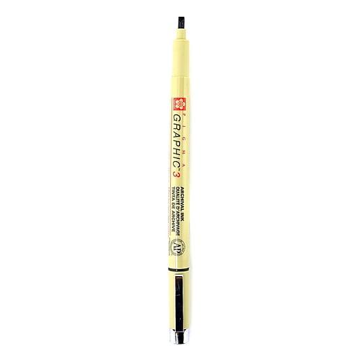 Sakura Pigma Graphic Pen 3.0 mm [Pack of 12]