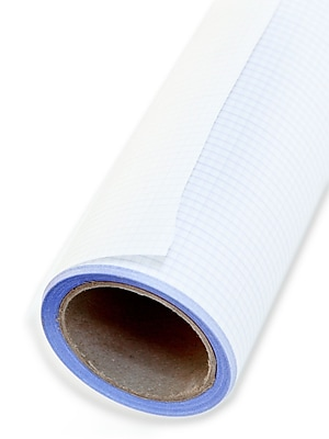 Clearprint Fade-Out Design And Sketch Vellum - Grid Rolls 8 X 8 24 In. X 20 Yd. Roll
