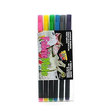 Yasutomo FabricMate Markers tropical color set