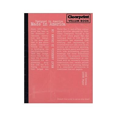 Clearprint Plain Vellum Field Book, 50 Sheets, 6