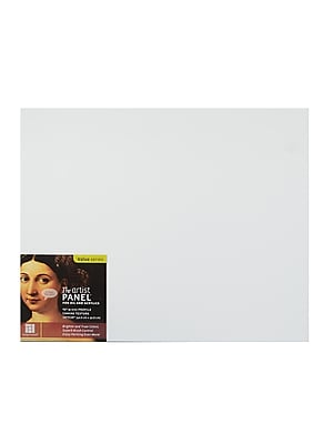 Ampersand The Artist Panel Canvas Texture Flat Profile 16 In. X 20 In. 3/8 In. [Pack Of 2]