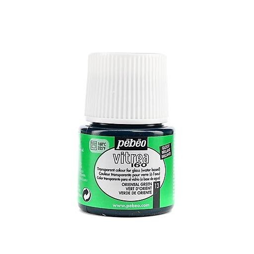 Pebeo Vitrea 160 Glass Paint oriental green gloss 45 ml [Pack of 3]