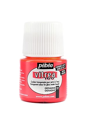 Pebeo Vitrea 160 Glass Paint grenadine frosted 45 ml [Pack of 3]