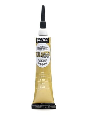 Pebeo Vitrea 160 Outliners gold 20 ml [Pack of 3]