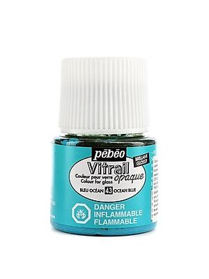Pebeo Vitrail Paint ocean blue 45 ml [Pack of 3]