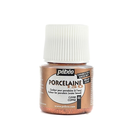 Pebeo Porcelaine 150 China Paint copper 45 ml [Pack of 3]