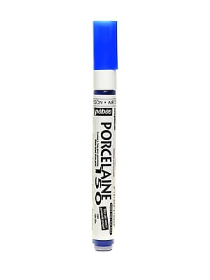Pebeo Porcelaine 150 Markers lapis blue fine [Pack of 3]