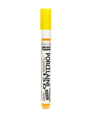 Pebeo Porcelaine 150 Markers marseille yellow fine [Pack of 3]