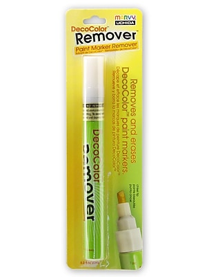 Marvy Uchida 72119-PK4 Decocolor Paint Marker Remover, 4/Pack