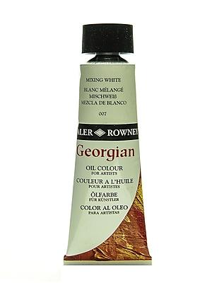Daler-Rowney Georgian Oil Colours mixing white 75 ml [Pack of 2]