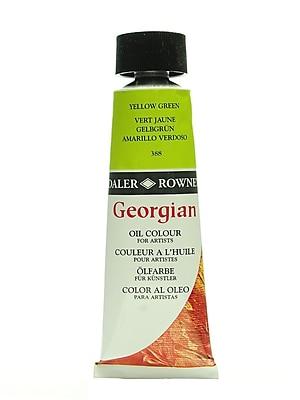 Daler-Rowney Georgian Oil Colours yellow green 75 ml [Pack of 2]