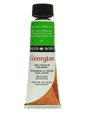 Daler-Rowney Georgian Oil Colours permanent green light 75 ml [Pack of 2]