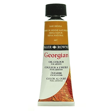 Daler-Rowney Georgian Oil Colours raw sienna 75 ml [Pack of 2]