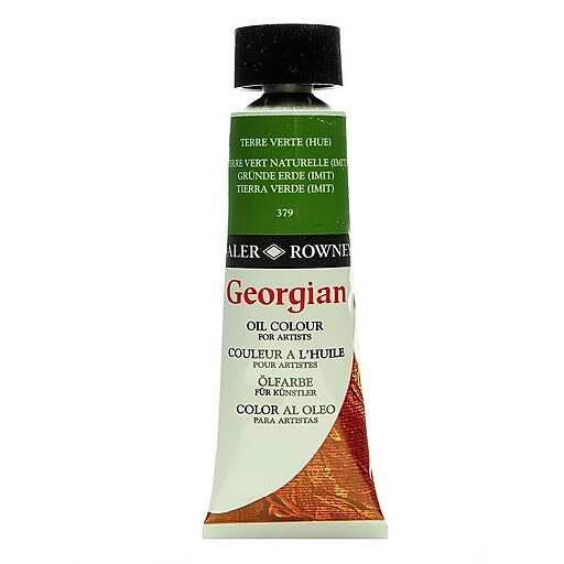 Daler-Rowney Georgian Oil Colours terre verte hue 75 ml [Pack of 2]